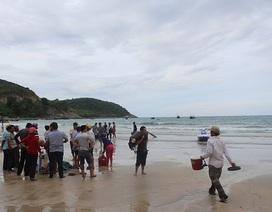 Ngư dân tìm thấy thi thể nữ sinh lớp 7 mất tích trên biển