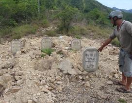 """Vụ hơn 100 ngôi mộ """"biến mất"""": Chủ đầu tư nhận lỗi"""