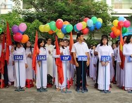 Nét đẹp tinh khôi của nữ sinh Nha Trang trong lễ khai giảng
