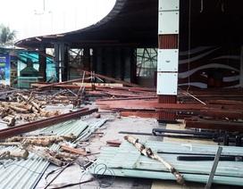 Chắn tầm nhìn ra biển Nha Trang, một nhà hàng kiên cố bị tháo dỡ