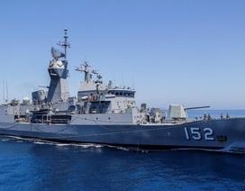 Chiến hạm Úc cùng thủy thủ đoàn 180 người thăm Cam Ranh