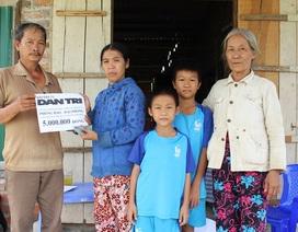 Quỹ Nhân ái hỗ trợ 5 triệu đồng đến 2 anh em nghèo chơi nhạc ở Khánh Hòa