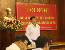 """Vụ lở núi 4 người tử vong: Chủ tịch Khánh Hòa """"truy"""" nguyên nhân"""