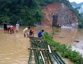 Thanh Hóa: Nước sông Mã dâng cao, nhiều nơi bị cô lập