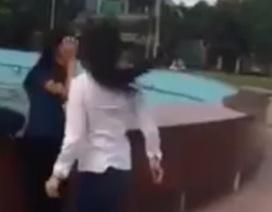Xuất hiện clip nữ sinh đánh nhau gây xôn xao