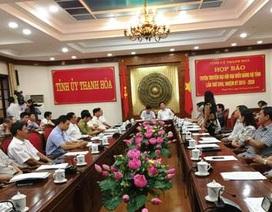 Thanh Hóa: Gần 25 phó giáo sư, tiến sĩ là đại biểu đại hội