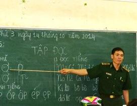 Những lớp học đặc biệt của thầy Tiến biên phòng