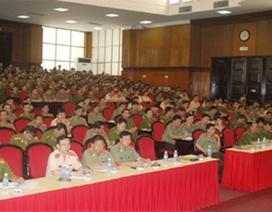 Thanh Hóa: Gần 1.300 cán bộ chiến sỹ bảo vệ công tác bầu cử