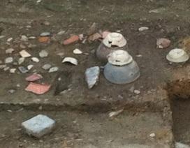 Phát hiện hình thức mộ táng tại di tích Đông Sơn