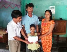 Hơn 26 triệu đồng đến với bé gái 8 tuổi mắc bệnh ung thư hiểm nghèo