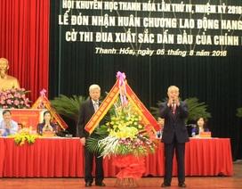Hội Khuyến học Thanh Hóa đón nhận Huân chương Lao động hạng Nhất