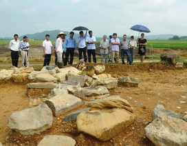 Phát hiện nhiều hiện vật tại di tích Hào thành phía Bắc - Thành Nhà Hồ
