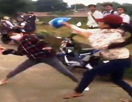 Nữ sinh liên tục đánh nhau, Sở Giáo dục lên tiếng