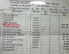 Thanh Hóa: Chủ tịch tỉnh chấn chỉnh tình trạng lạm thu