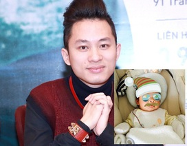 """Ca sỹ Tùng Dương khoe ảnh con trai """"cực ngầu"""""""