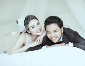Trang Nhung khoe ảnh cưới lãng mạn cận kề lễ vu quy