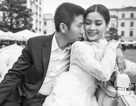 """Á hậu Diễm Trang khoe """"tình bạn"""" 2 năm với ông xã"""
