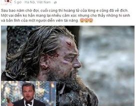 """Đan Lê gọi Leonardo DiCaprio là """"Hoàng tử của lòng em"""""""