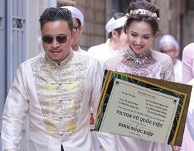Lộ thiệp cưới, teaser gây sốt của Đinh Ngọc Diệp - Victor Vũ