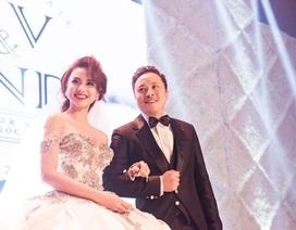 Dạ tiệc cưới Victor Vũ - Ngọc Diệp tái hiện như phim trường