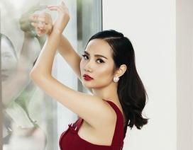 Hoa hậu Đông Nam Á Diệu Linh lạnh lùng khoe đường cong