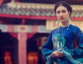 Hoa khôi Du lịch Huế 2016 làm nàng thơ với áo dài thướt tha