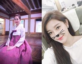 Đặng Thu Thảo ngọt ngào hanbok, Huyền My vi vu xứ Hàn