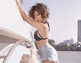 Hoa hậu Điện ảnh Huỳnh Yến Trinh táo bạo với bikini