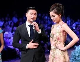Kỳ Duyên im lặng khi được hỏi về chàng trai mua váy 7.000 đô la Mỹ