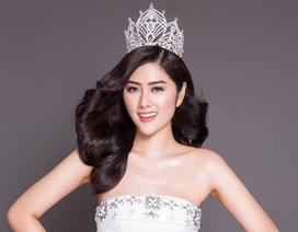 Hoa hậu châu Á khoe vẻ rạng rỡ với váy dạ hội