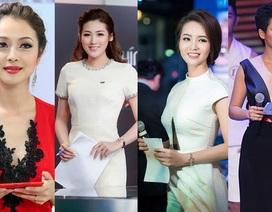 """Hoa hậu, Á hậu làm MC - người duyên dáng, người """"bình hoa di động"""""""