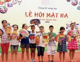 Trẻ em 2 miền vui Trung thu truyền thống với Lễ hội mặt nạ