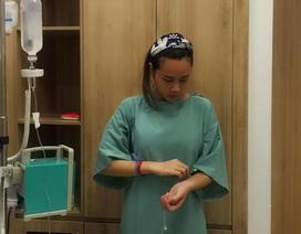 Lưu Hương Giang phải nhập viện mổ cấp cứu vì chủ quan