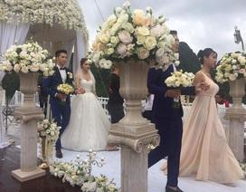 Rò rỉ ảnh Hương Giang Idol mặc váy cô dâu bên trai lạ