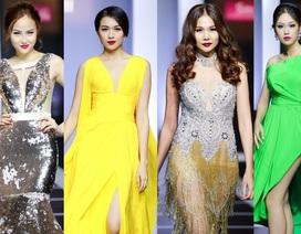Song Hằng cùng loạt Hoa hậu, Á khôi sải bước váy dạ hội