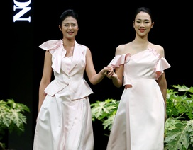 """Hoa hậu Ngọc Hân cùng các nhà thiết kế """"tỏ tình mùa xuân"""""""