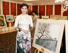 Nữ nghệ sĩ hào hứng mang áo dài Việt Nam tới Ấn Độ