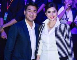 Diễn viên Thủy Tiên thanh lịch bên con trai Phillip Nguyễn