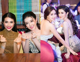 Á hậu Huyền My đọ sắc cùng Hoa hậu Mai Phương Thúy, Á hậu Lệ Hằng