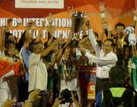 Khoảnh khắc ăn mừng chiến thắng của U19 HAGL