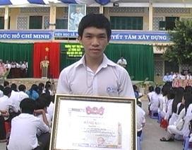 Nam sinh Đồng Tháp say mê nghiên cứu khoa học