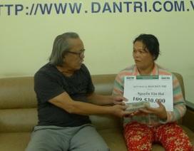 Trao hơn 109 triệu đồng đến gia đình anh Nguyễn Văn Hai