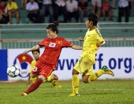 Nữ Việt Nam chốt đội hình xuất phát trước trận gặp Philippines