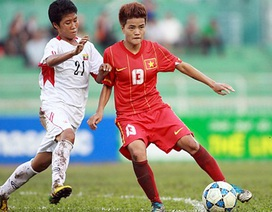 Vượt qua Myanmar, nữ Việt Nam vào bán kết bằng ngôi nhất bảng