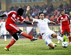 Vòng 5 V-League 2014: Chiến thắng đầu tay cho B.Bình Dương?