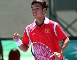 Nguyễn Hoàng Thiên bỏ giải Men's Future để đánh Davis Cup