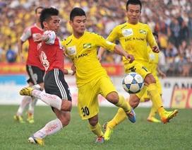 """Vòng 10 V-League 2014: """"Thánh địa"""" bị đánh sập"""