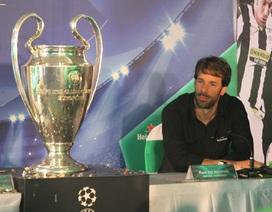"""Van Nistelrooy: """"Tôi không tiếc vì chưa từng vô địch Champions League"""""""