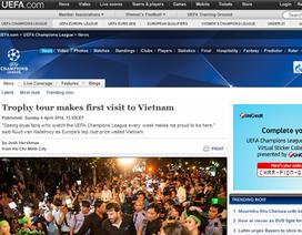 UEFA bất ngờ vì sự cuồng nhiệt của CĐV Việt Nam