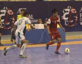 Đội tuyển futsal Việt Nam thua đáng tiếc trước Iraq